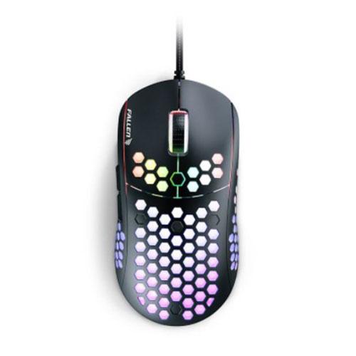 Mouse Gamer Ultraleve F75 Preto - Fallen