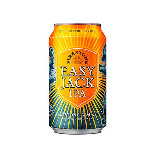 Cerveja Americana Firestone Walker Easy Jack Ipa Lata 350ml