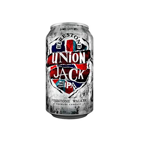 Cerveja Americana Firestone Walker Union Jack Ipa Lata 350ml