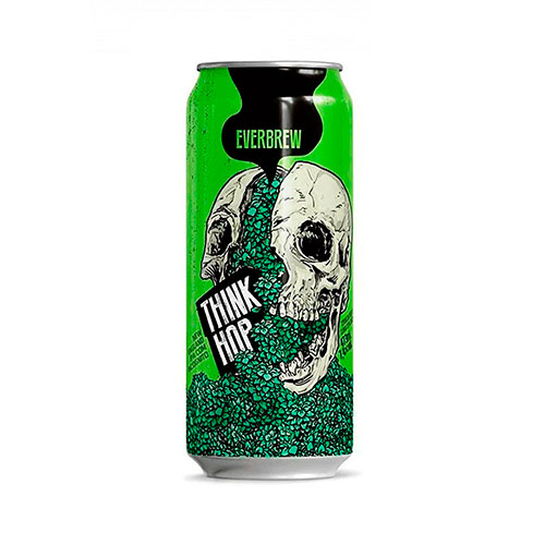 Cerveja Artesanal Everbrew Think Hop Lata 473ml