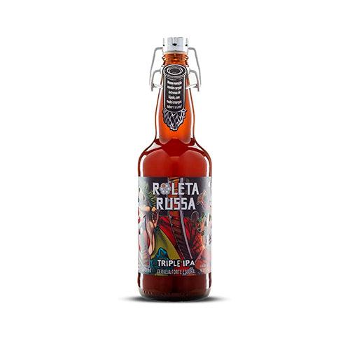 Cerveja Artesanal Roleta Russa Triple IPA 500ml
