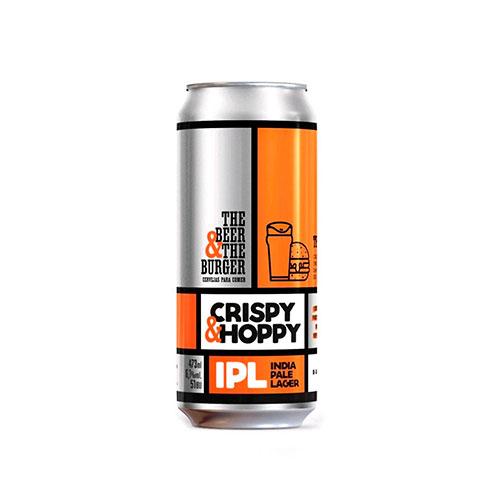 Cerveja Artesanal Avós Hambu´rguer Perfeito Crispy  Hoppy Lata 473ml