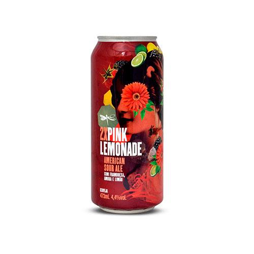 Cerveja Artesanal Dádiva 2x Pink Lemonade Lata 473ml