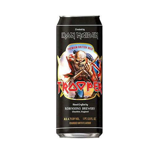 Cerveja Inglesa Trooper Lata 500ml