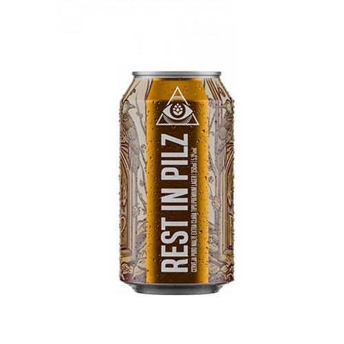 Cerveja Artesanal Dogma Rest in Pilz Lata 350ml