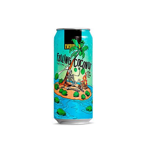 Cerveja Artesanal Everbrew Falling Coconut Lata 473ml