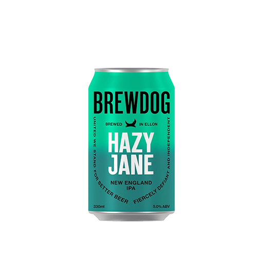 Cerveja Escocesa Brewdog Hazy Jane Lata 330ml