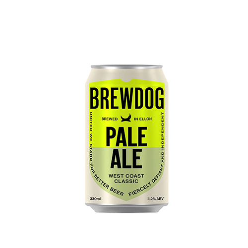 Cerveja Escocesa Brewdog Pale Ale Lata 330ml