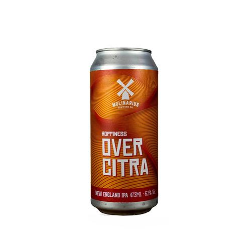 Cerveja Artesanal Molinarius OverCitra NEIPA Lata 473ml
