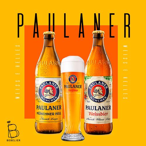Assinatura Clube de Cerveja Paulaner com 2 garrafas - Plano Trimestral - Bebelier