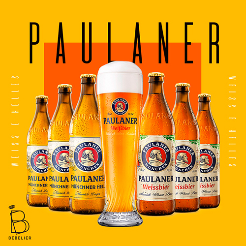 Assinatura Clube de Cerveja Paulaner com 6 garrafas - Plano Semestral - Bebelier