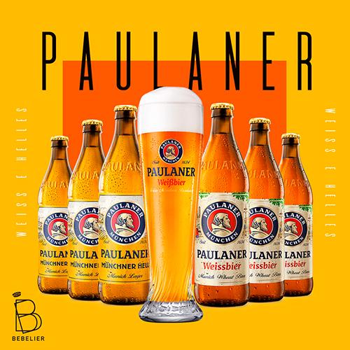 Assinatura Clube de Cerveja Paulaner com 6 garrafas - Plano Anual - Bebelier