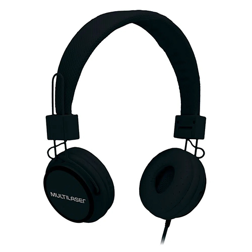 Headphone com Microfone Headfun P2 Preto - Multilaser