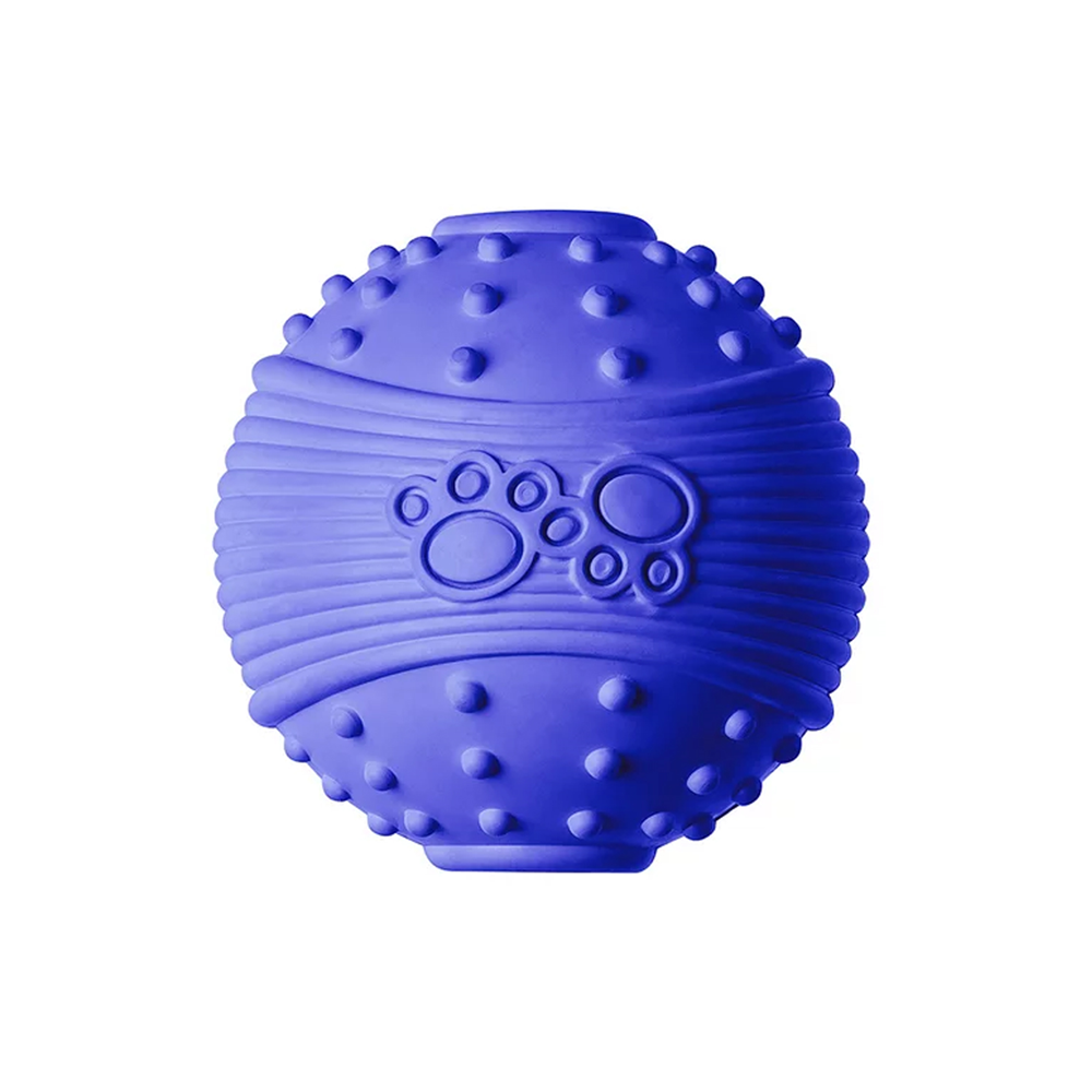Bola de Borracha para Cães Pet Azul  - Sanremo