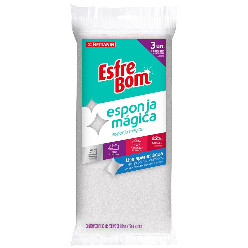 Pack de Esponjas Mágicas EsfreBom 3un - Bettanin