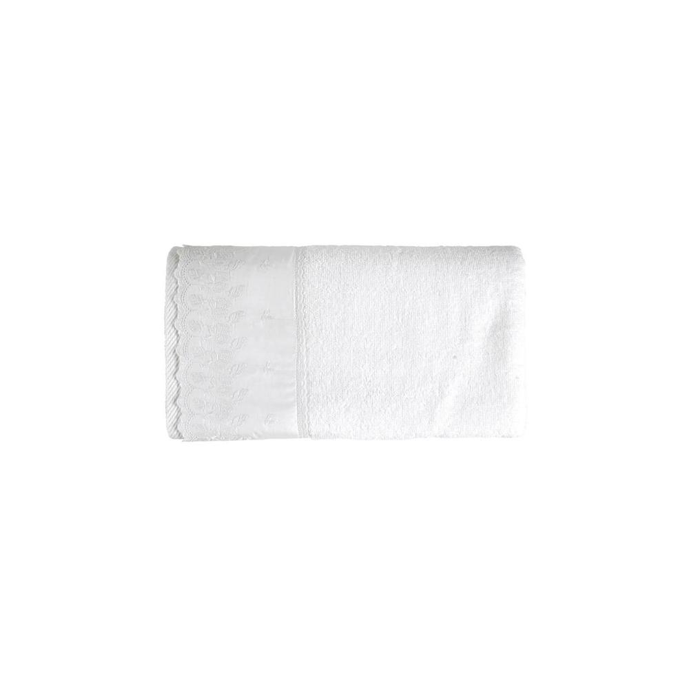 Toalha de Banho Fio Penteado Fresia Branca - Karsten