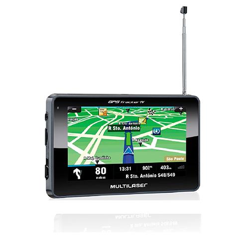 GPS Automotivo Tracker III com TV - Multilaser