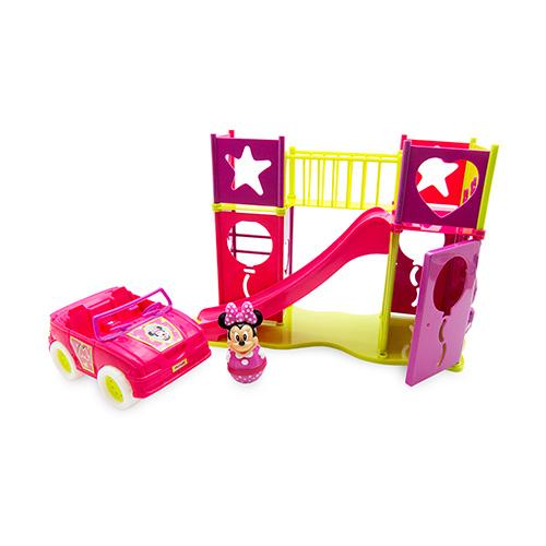 Playground para Boneca com Carrinho da Minnie - Toyng