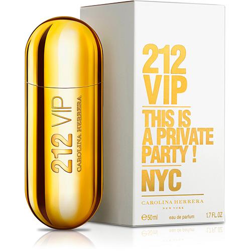 Perfume Feminino 212 Vip EDP 50ml - Carolina Herrera