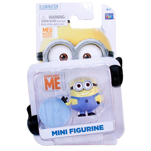 Mini Boneco de Plástico Minion - Meu Malvado Favorito - Toyng