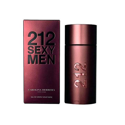 Perfume Masculino 212 Sexy EDT 50ml - Carolina Herrera