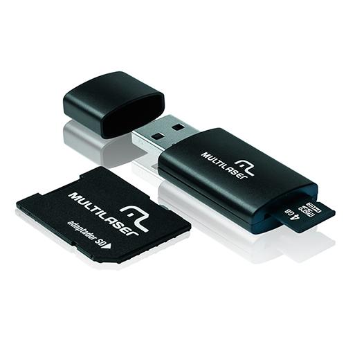 Pen Drive 3 em 1 4GB - Multilaser