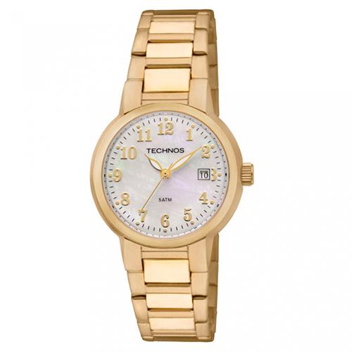 Relógio Feminino Boutique com Pulseira em Aço e Caixa em Aço - Technos