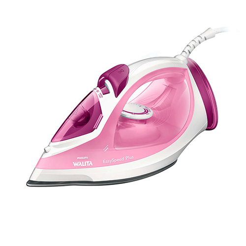 Ferro a Vapor EasySpeed Plus Rosa - Philips Walita