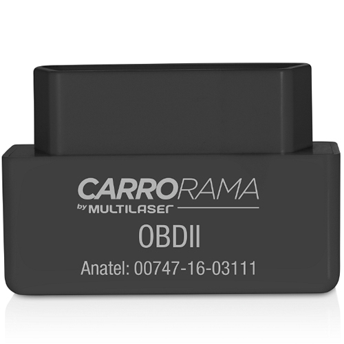 Scanner Automotivo Bluetooth OBDII Carrorama - Multilaser