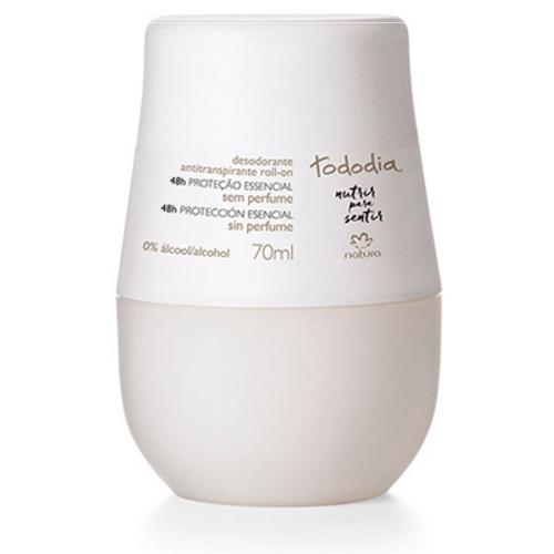 Desodorante Antitranspirante Roll-on Sem Perfume Tododia 70ml - Natura