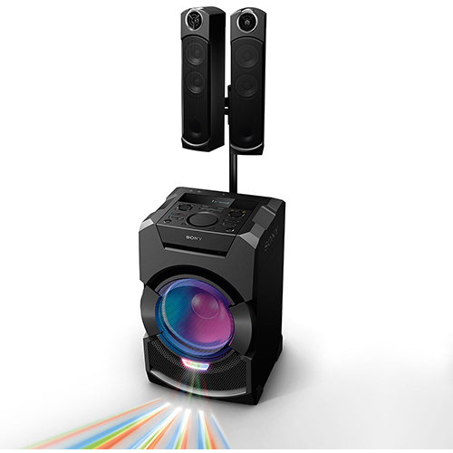 Mini System Flex com Bluetooth e Auto-falante com LED - Sony