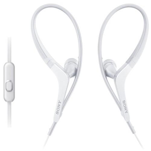 Fone de Ouvido Esportivo Estereo Intra-Auricular com Microfone Branco - Sony