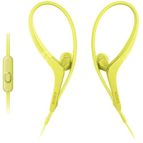 Fone de Ouvido Esportivo Estereo Intra-Auricular com Microfone Amarelo - Sony