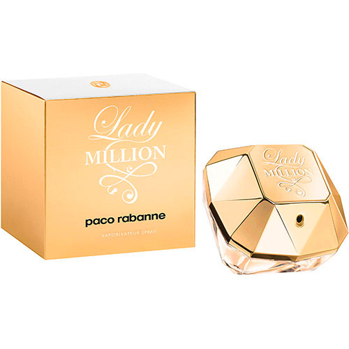 Perfume Feminino Lady Million EDP 50ml - Paco Rabanne