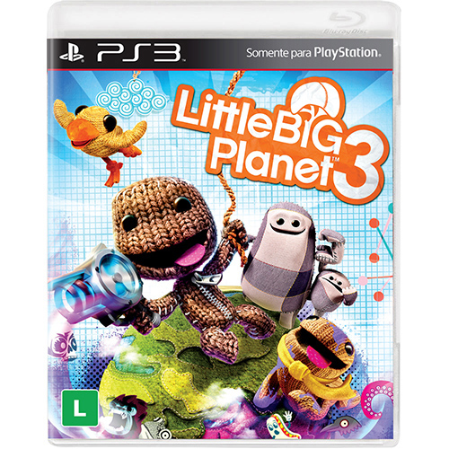 Game para PS3 Little Big Planet 3 - Sony