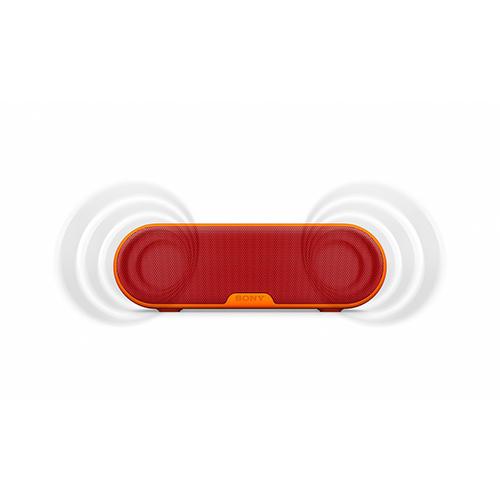 Caixa de Som Wireless Portátil Resistente a Água 20W RMS Vermelha - Sony