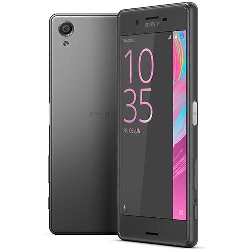 Smartphone Xperia X Dual, Câmera de 23MP, Tela curva Full HD de 5