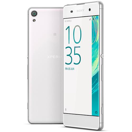 Smartphone Xperia XA Dual, Câmera de 13MP, Tela curva HD de 5