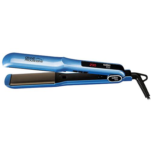 Prancha de Cabelos Grand Progressive 230C Azul - Salon Line