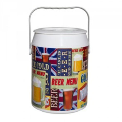 Geladeira Cooler Picnic Vintage Beer 8 Latas - Anabell