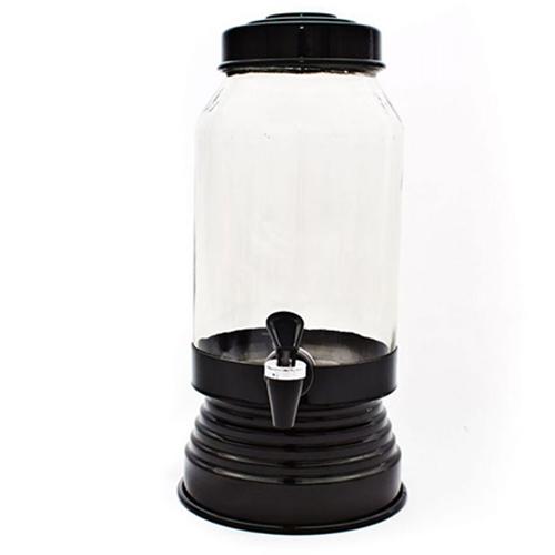 Suqueira de Vidro 3,250L Preta - Anabell
