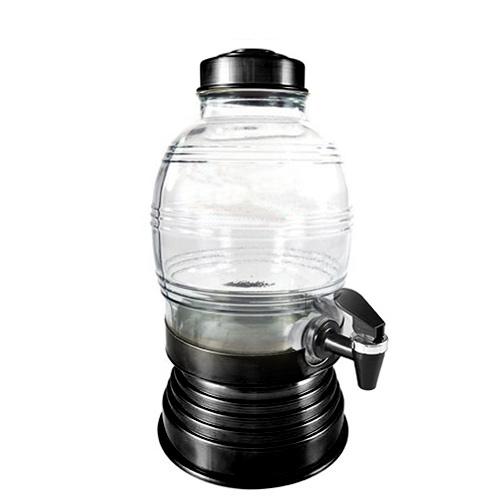 Suqueira de Vidro 5,400L Preta - Anabell