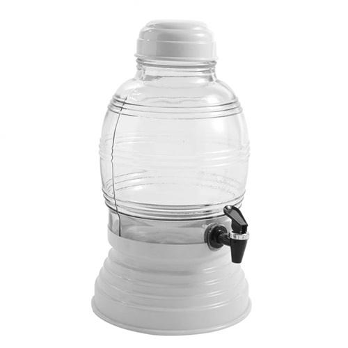 Suqueira de Vidro 5,400L Branca - Anabell