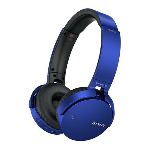 Headphone com Extra Bass Bluetooth Azul - Sony