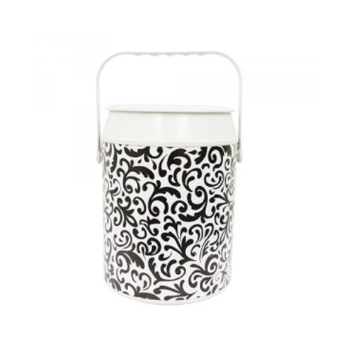 Geladeira Cooler Quiosque Black  White 10 Latas - Anabell